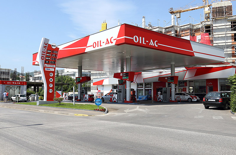 Benzinska postaja OIL-AC - Mostar